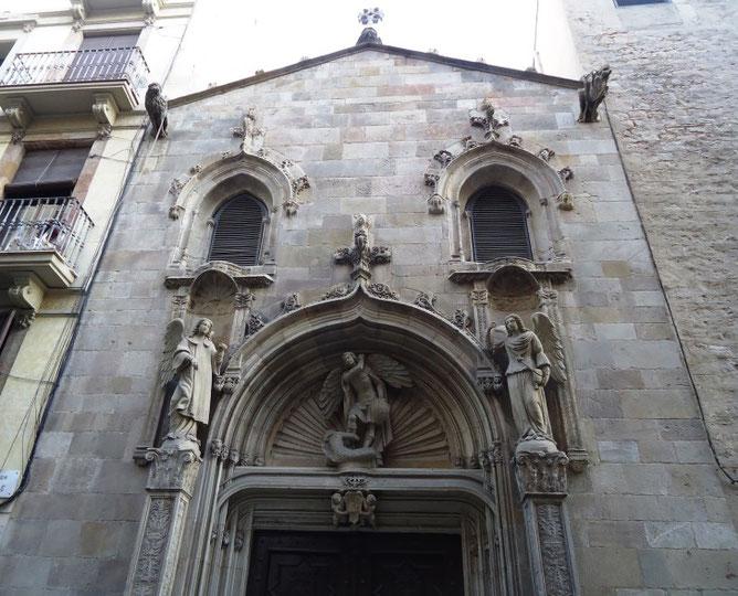 Описание базилики Ла-Мерсе в Барселоне