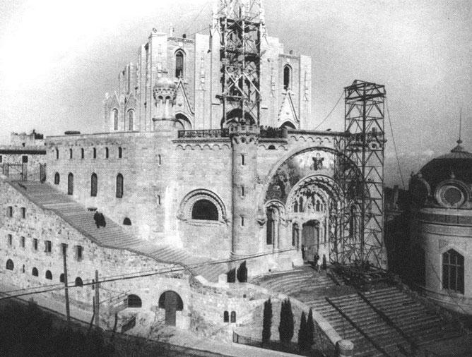 Храм Святого Сердца на Тибидабо