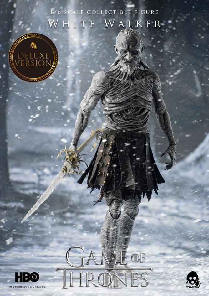 White Walker Deluxe 1/6 Game of Thrones Actionfigur 33cm Threezero 3Z0037DV