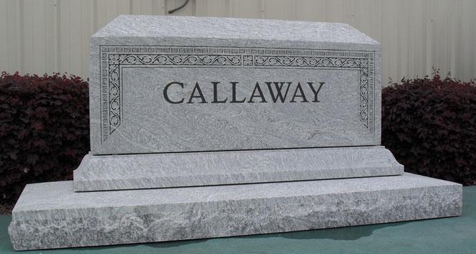 Silver Cloud gravestone