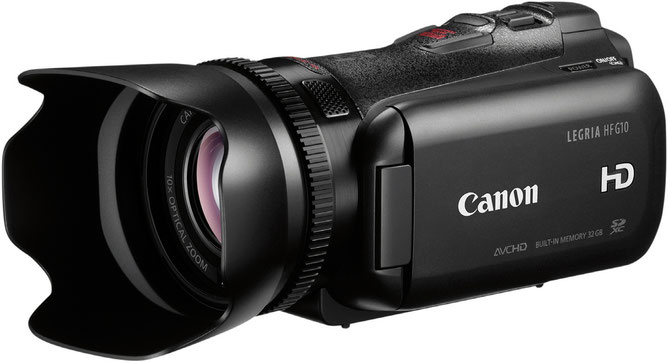 Canon Legria HF G10 European Consumers Choice Awards