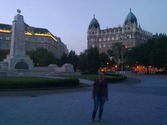 На площади Свободы в Будапеште