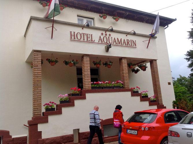 отель Аквамарин, где учат русский яык венгры