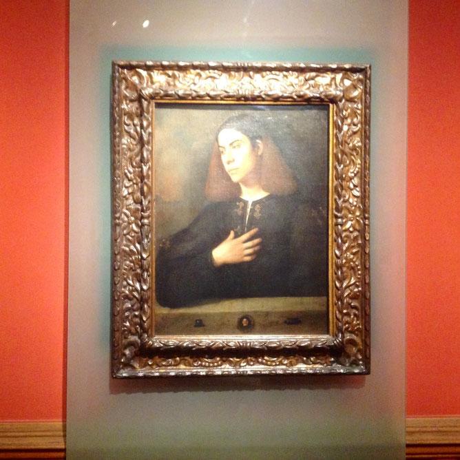 Джорджоне «Портрет молодого человека»