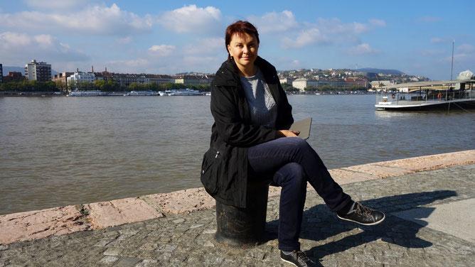 на набережной Дуная
