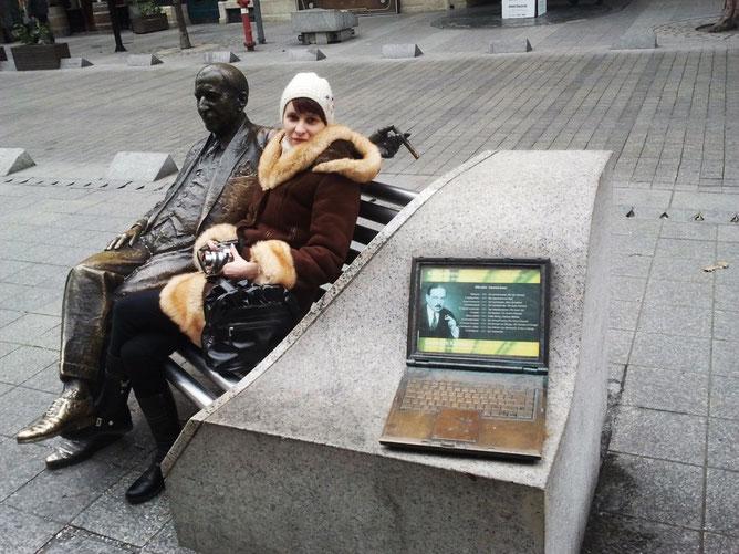 Скульптура Имре Кальмана