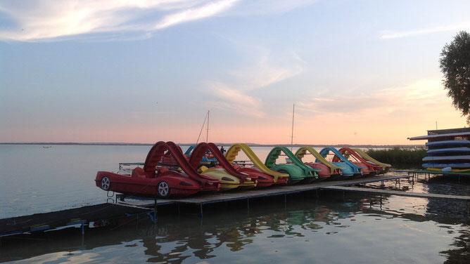 Транспортные средства для любителей покататься по водной глади.
