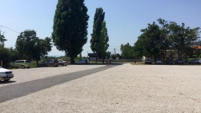 Парковка рядом с Музеем Африки