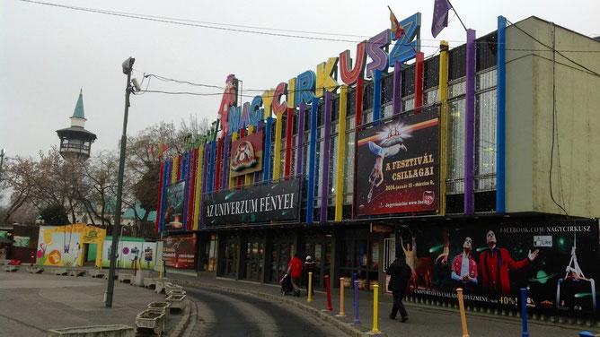 Здание цирка - nagycirkusz