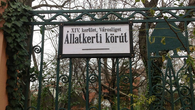 Адрес зоопарка: Állatkerti krt. 6-12.