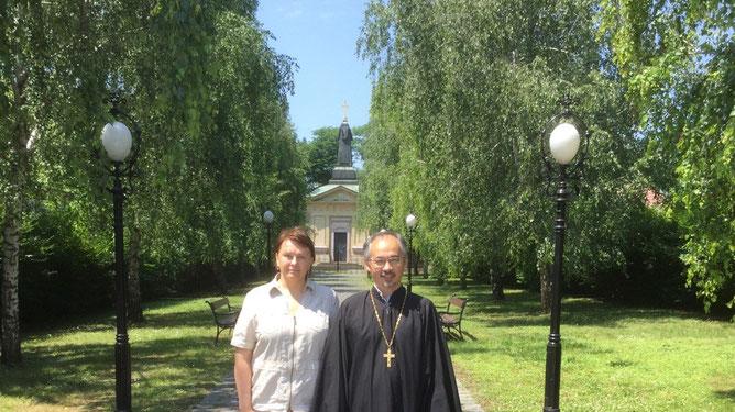 Николай Ким, Наталья Железнова, отец Николай, Иремский храм, храм в Иреме, русский храм