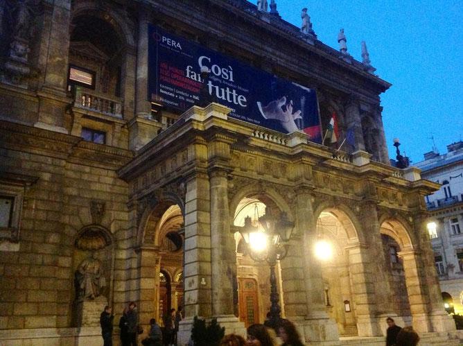 Опера, Будапешт, Оперный театр в Будапеште