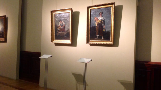 Гойя «Портрет сеньоры де Сеан-Бермудес» и  «Водоноска».