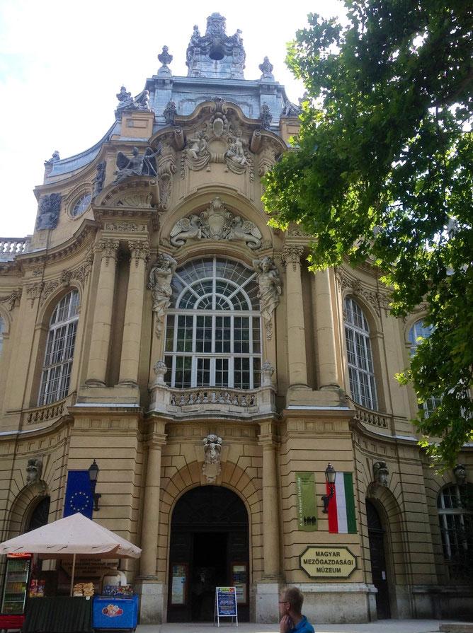 Венгерский сельскохозяйственный музей