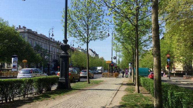На проспекте Андраши рядом с Российким культурным центром