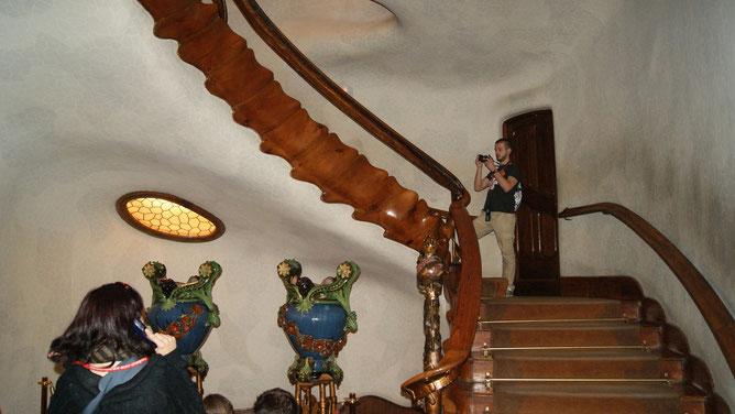 Дом Бальо. Лестница внутри
