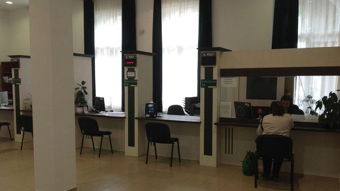 В офисе Кестхейского земельного-кадастрового центра