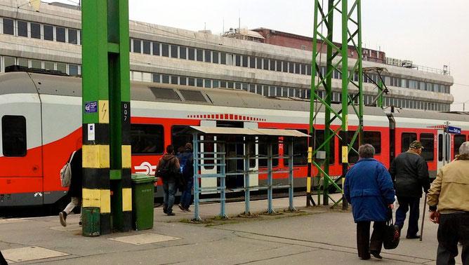 На южном вокзале, Будапешт