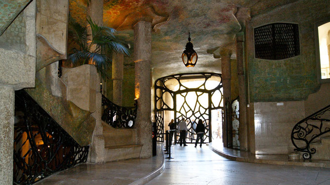 Внутри Дома Бальо