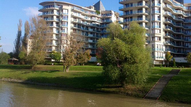 Новый жилой комплекс на набережной
