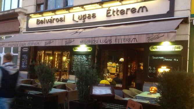 Belvárosi Lugas Étterem, Будапешт