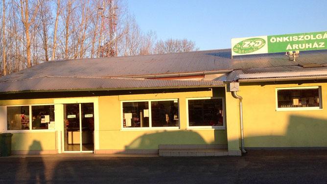 Магазин сети Z+D рядом с Хевизом