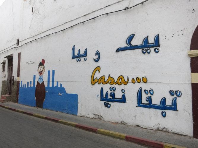 Dans les rues de l'ancienne Medina