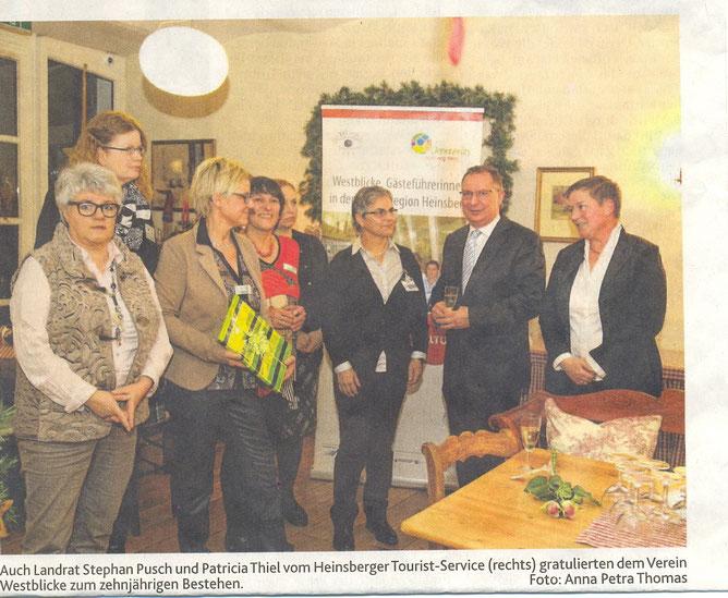 10jähriges Jubiläum im Café zur Linde in Heinsberg-Horst