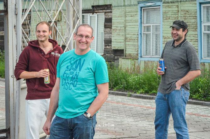 Fünf Bayern im hintersten Winkel Russlands. Eine Reise ist immer wieder überraschend.