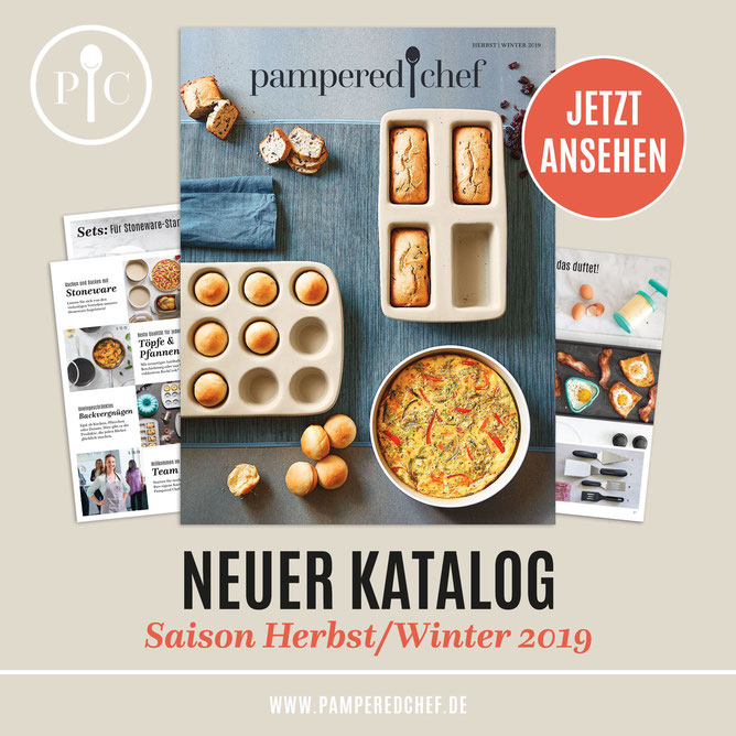 Pampered Chef Katalog Frontseite