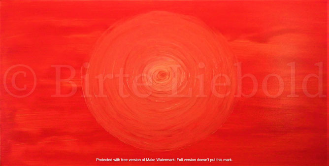 """""""In spirit of harmony"""" - 50 x 100 cm -"""