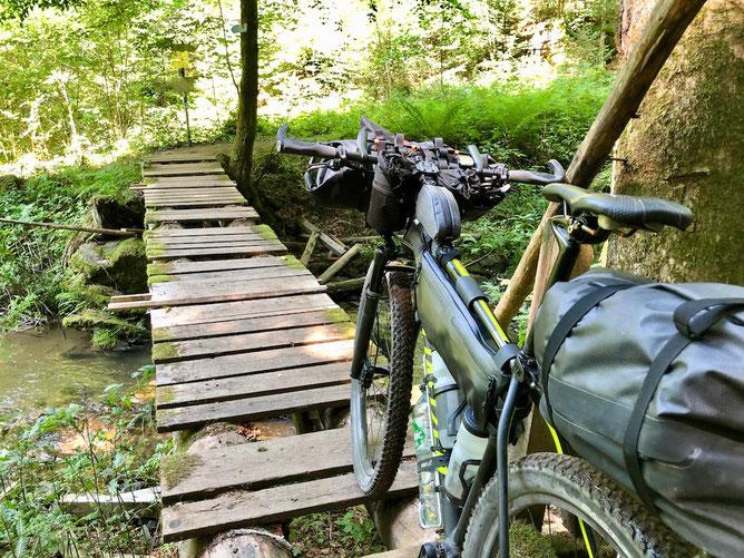 Berghuhn, Bikepacking, Trans Bayerwald