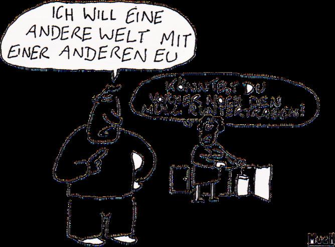Cartoon: MUCH