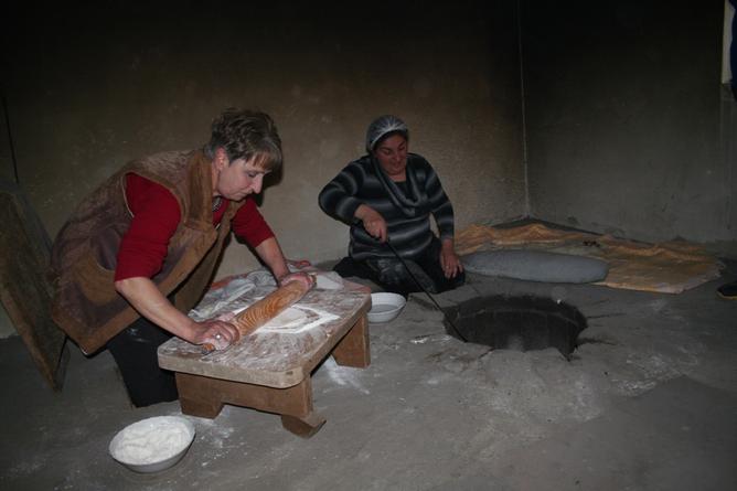 Einblick in die armenische Küche nach einem ausgiebigen Sightseeing-Lauf