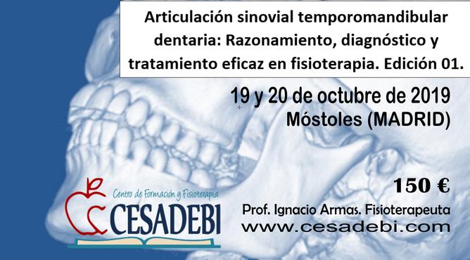 Curso SOBRE ESGUINCE CERVICAL PARA FISIOTERAPEUTAS. Técnicas de Osteopatía.