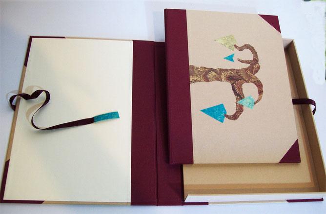 caja y carpeta para grabado,diseño, presentacion, paqueteria,regalo, envoltorio, elegante