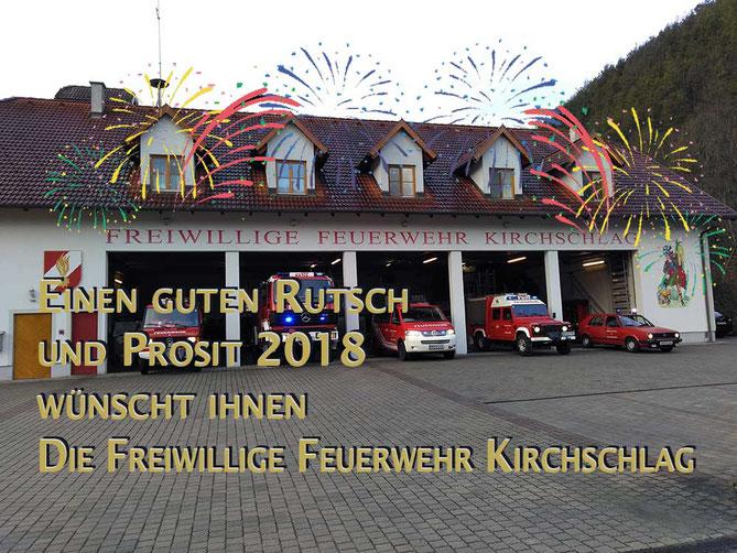 Einen guten Rutsch und ein gutes neues Jahr 2018