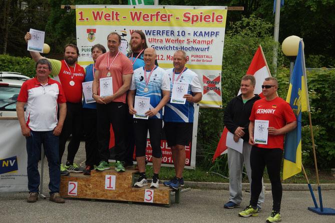 Ruben Loew wurde auch im Team Weltmeister! Maik Arendt zudem noch 4. in der Mannschaftswertung der jüngeren Klassen!