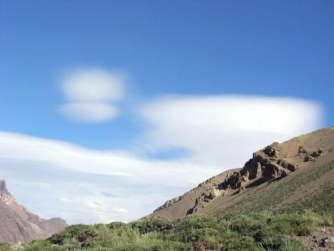Wetterboten am Aconcagua