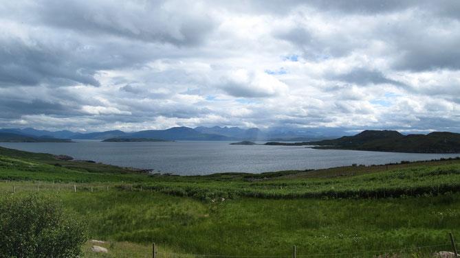 Blick auf die Summer Isles von Achiltibuie aus