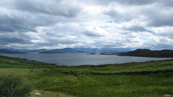 View towards the Summer Isles from Achiltibuie