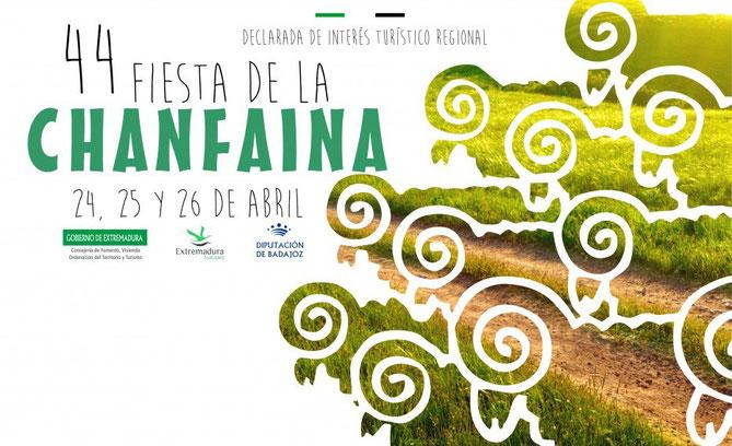 Cartel de la Fiesta de la Chanfaina 2015 en Fuente de Cantos