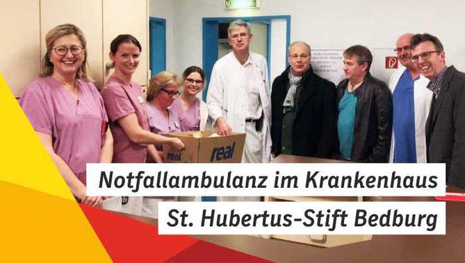 Notfallambulanz im Krankenhaus St. Hubertus-Stift Bedburg