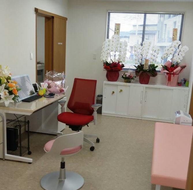 いとう耳鼻咽喉科クリニック診察室