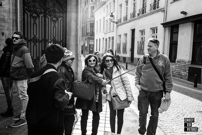 La photographie expliquée lors de cours ou formations en compagnie du très bon photographe de Bruxelles Noisy Kid