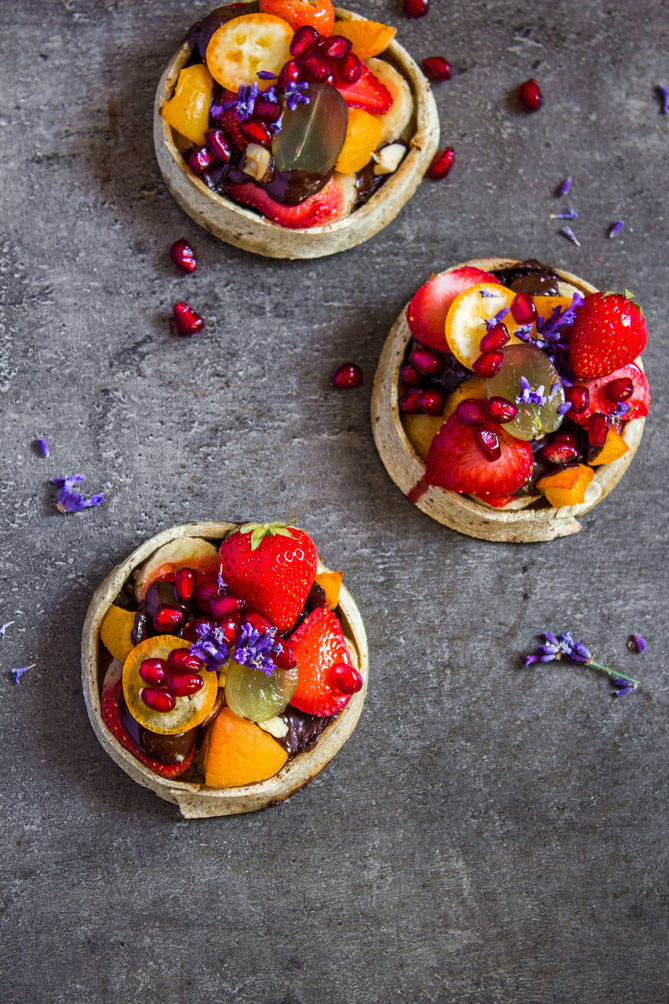 vegan GF tartlets