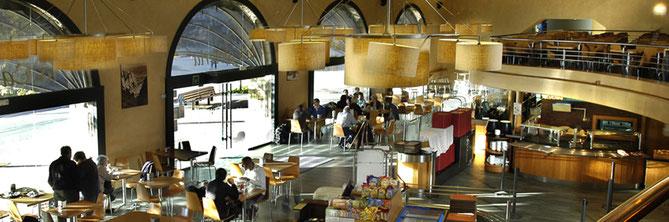 Кафетерий Монсеррат - где поесть в монастыре Монсеррат