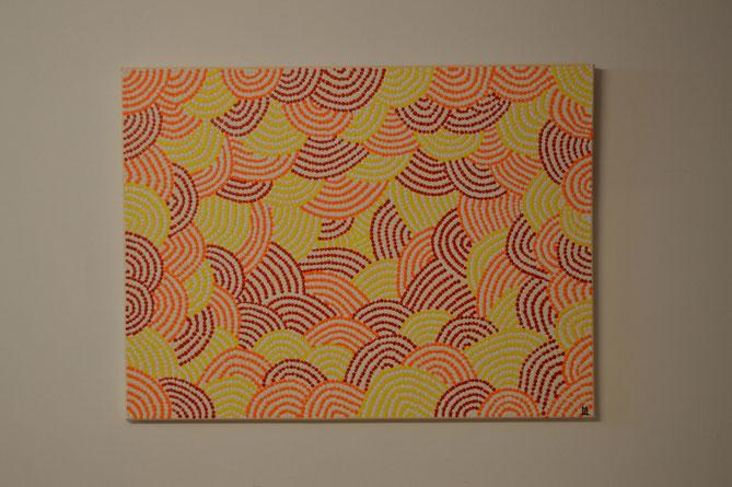 DAKU (Sandhügel)   80 x 60 cm   / Nicht mehr erhältlich. ...