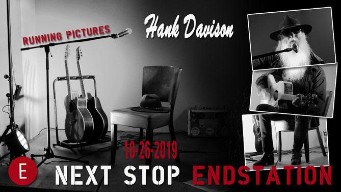 Hank Davison; Endstation; Weißenhorn; Running Pictures; unplugged; solo; Biker; artblow; Georg Hieber;