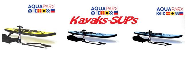 Sups Kayaks Aquaparx